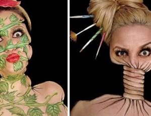 12 Saat Süren 3D Makyajlar