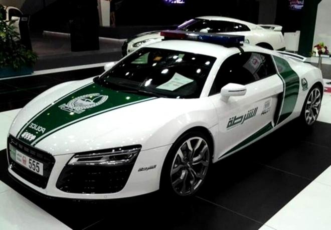 Dubai Polisinin Süper Lüks Arabaları galerisi resim 2