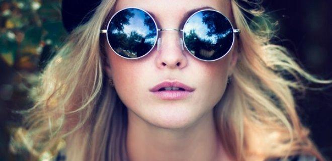 yuvarlak güneş gözlük