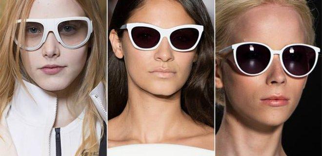 beyaz gözlük
