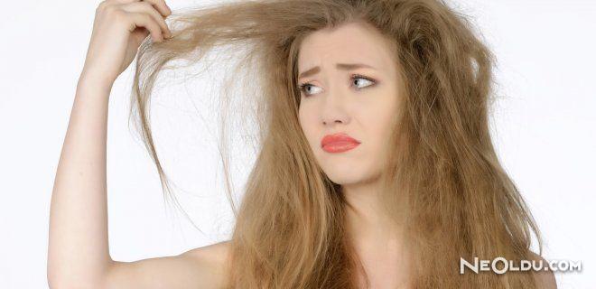 Kuru Saçlara Evde Bakım Önerileri