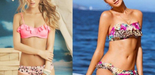 volanlı bikini