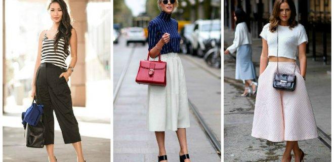 kısa paça bol pantolon modası