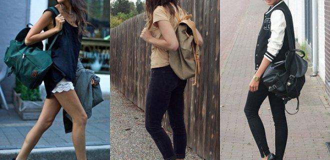 sırt çanta modası