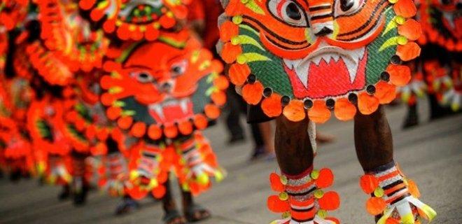 ati atihan festivali kostümleri