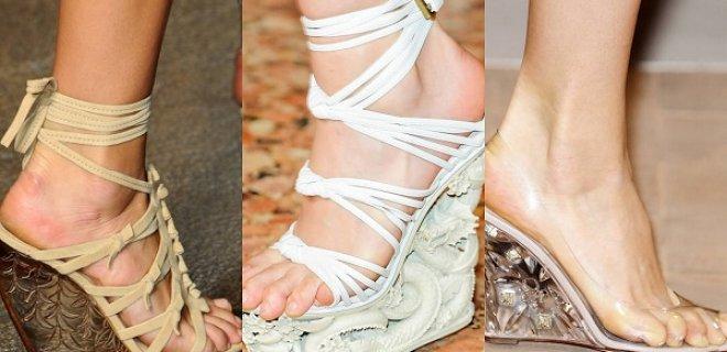 dolgu topuk ayakkabı trendi