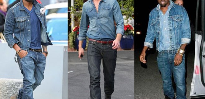 erkek jean ceket
