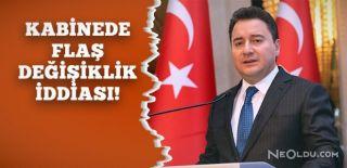 Ekonomi Bakanlığı için Ali Babacan İddiası