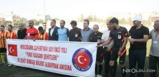 Türk ve Suriyeli Vatandaşlardan Dostluk Maçı