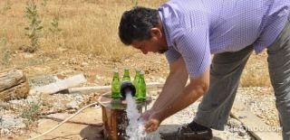 Bahçesinde Termal Su Buldu