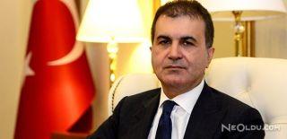 """AB Bakanı Ömer Çelik'ten """"Racon"""" Açıklaması"""