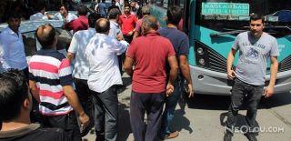 Otobüs Şoförünü Vuran Şahsı Linç Ediyorlardı