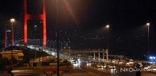 15 Temmuz Şehitler Köprüsü'ndeki Çalışmalar Bitti
