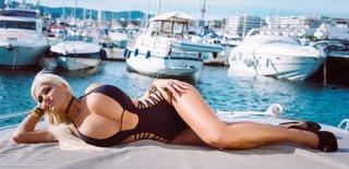 Kum Saati Gibi Görünen Yıldız Sophia Vegas