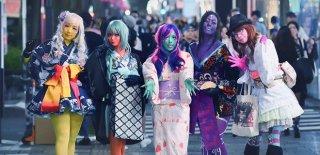 Japonların Yeni Moda Trendi Renkli Cilt