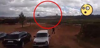 Rus Pilot Yanlışlıkla Füze Attı