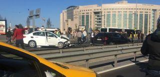 İstanbul Çağlayan'da Zincirleme Kaza!