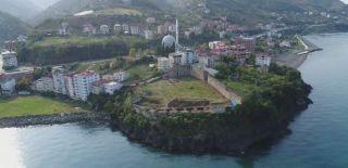 Trabzon'daki Akçakale Gün Yüzüne Çıkartılıyor