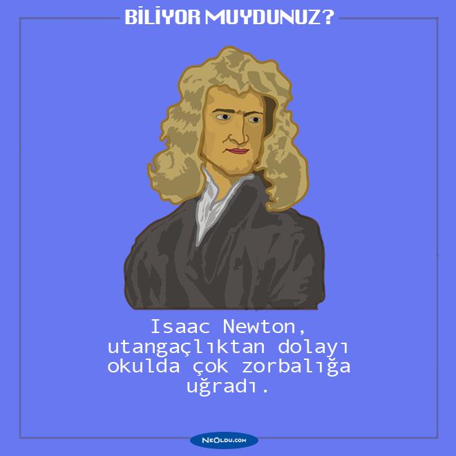 newton hakkında ilginç bilgiler