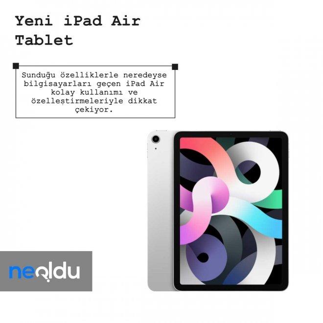 iPad Air Özelleştirme