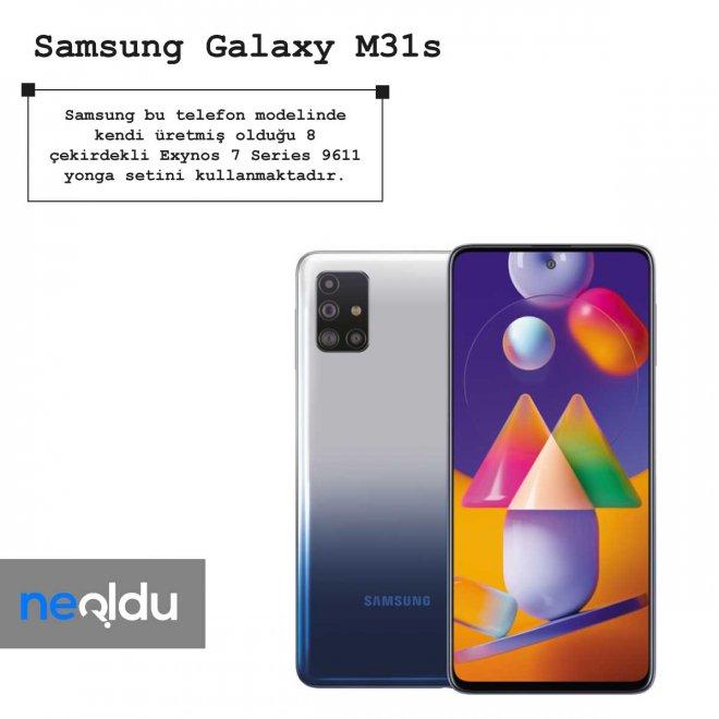Samsung Galaxy M31s işlemci