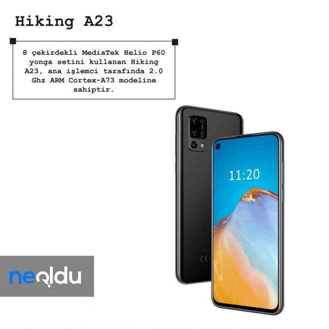 Hiking A23 işlemci