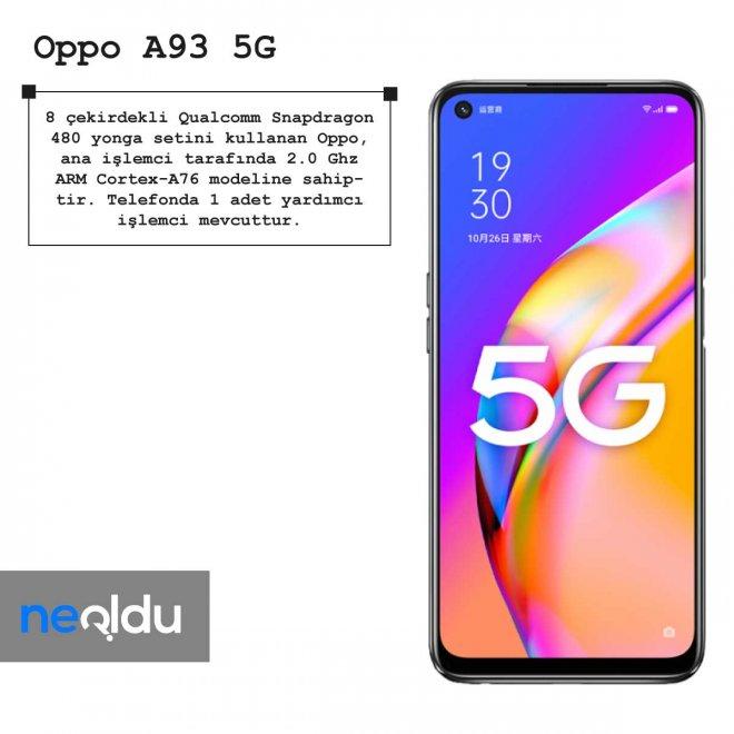 Oppo A93 5G işlemci