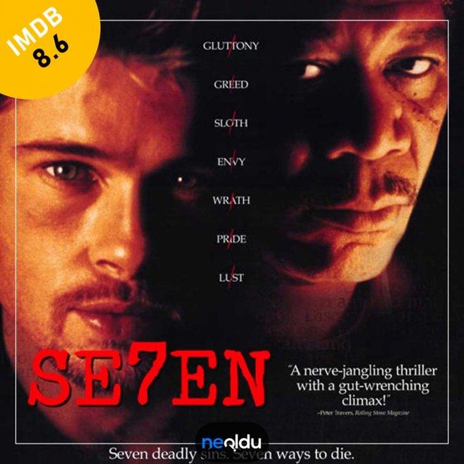 Se7en (1995) – IMDb: 8.6