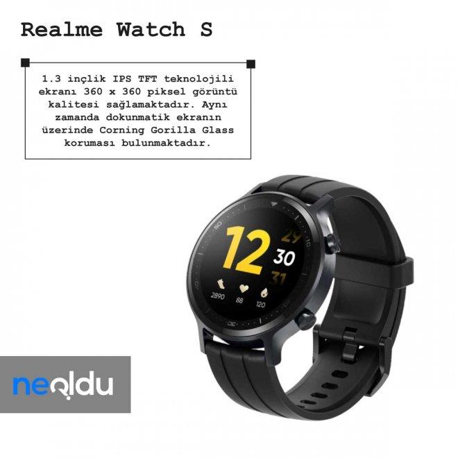 Realme Watch S ekran özellikleri