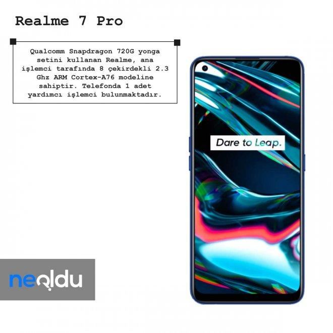 Realme 7 Pro işlemci
