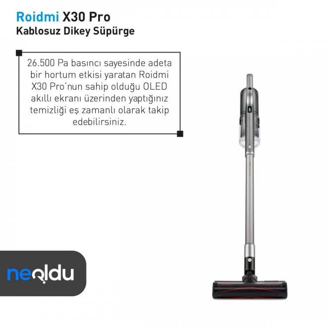 Roidmi X30 Pro 26.500 pa
