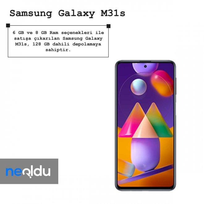 Samsung Galaxy M31s ram