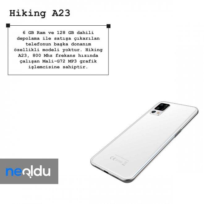 Hiking A23 ram