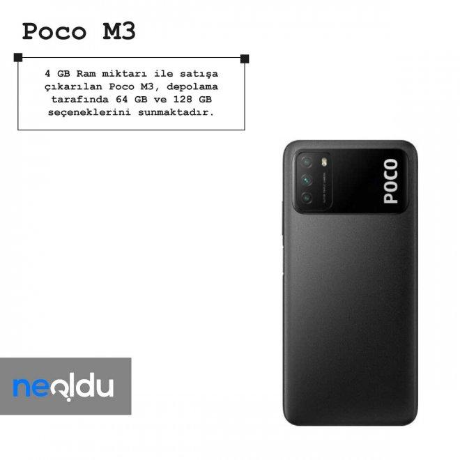 Poco M3 ram