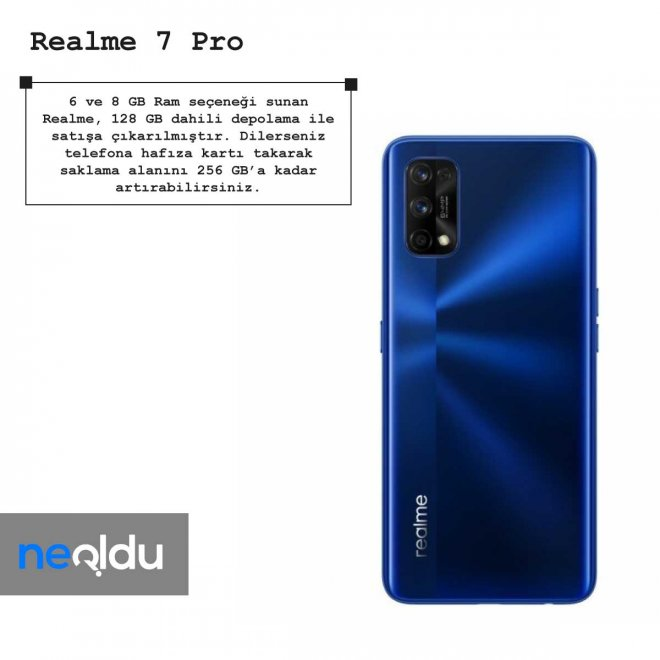 Realme 7 Pro ram
