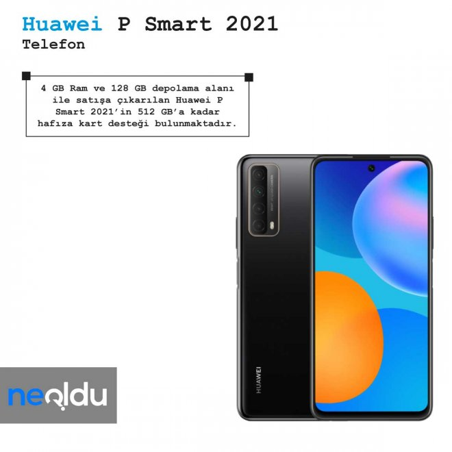 Huawei P Smart 2021 ram ve depolama