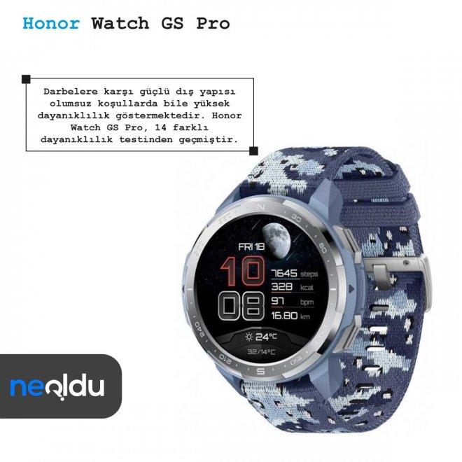 Honor Watch GS Pro 14 sertifika
