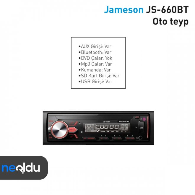 Jameson JS-660BT