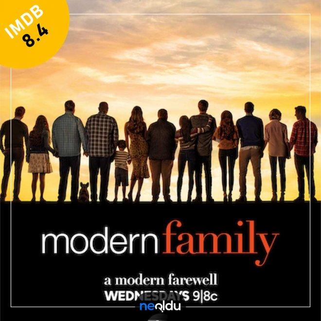 Modern Family (2009-2020) – IMDb: 8.4