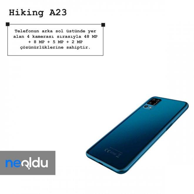 Hiking A23 kamera özellikleri