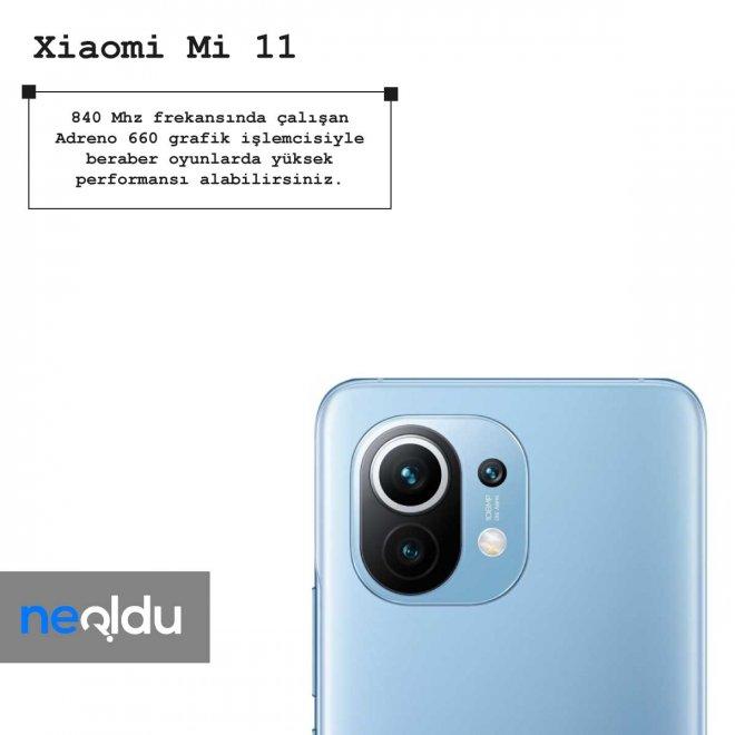 Xiaomi mi 11 kamera özelikleri
