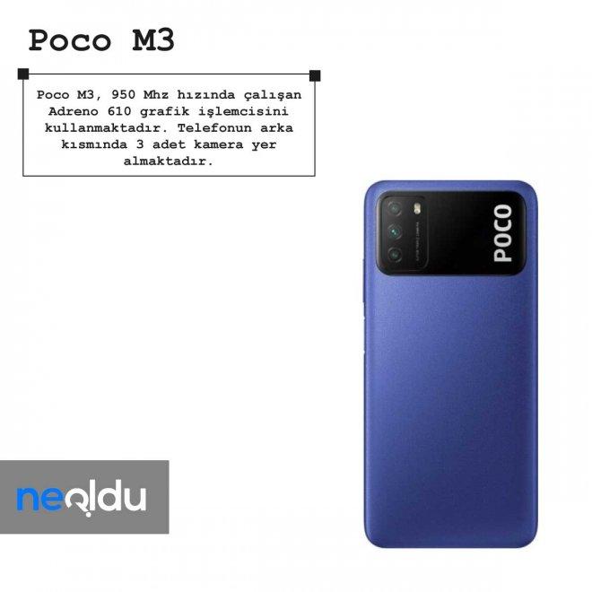 Poco M3 grafik işlemcisi