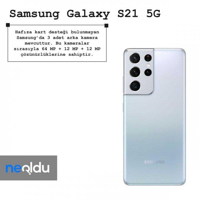 Samsung Galaxy S21 5G hafıza kart