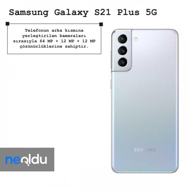 Samsung Galaxy S21 Plus 5G kamera çözünürlüğü