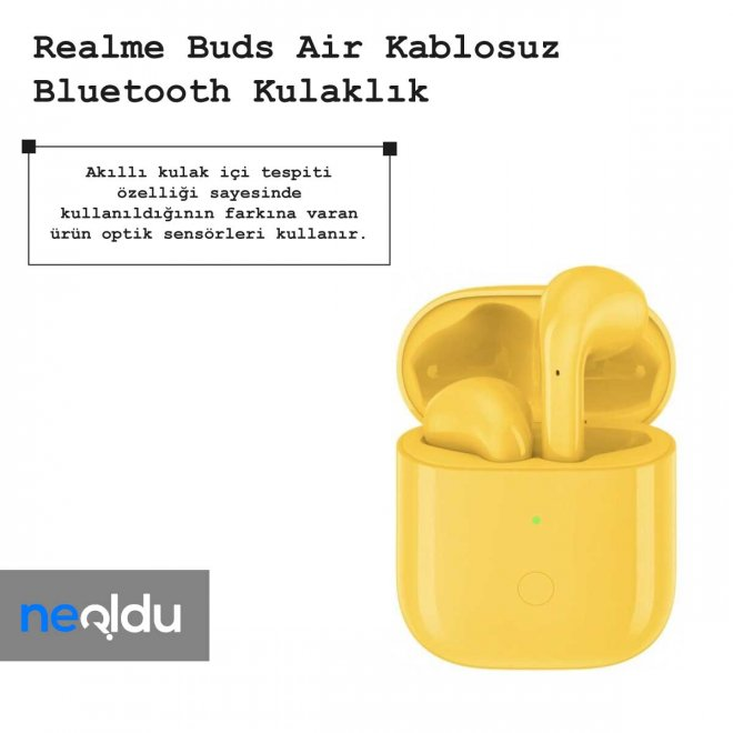 realme Buds Air sensör