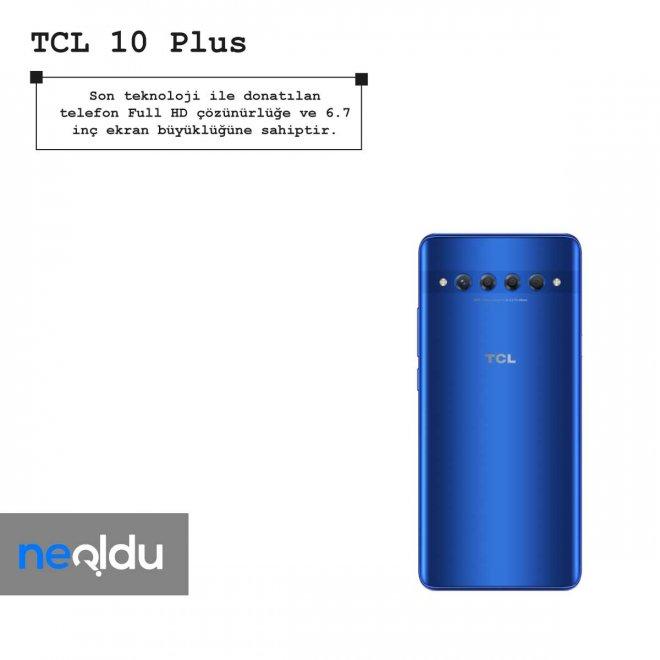 TCL 10 Plus ekran boyutu