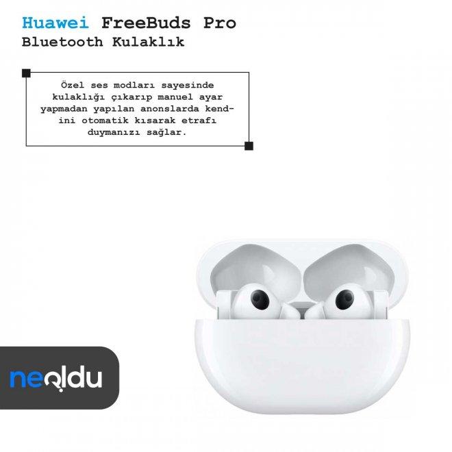 Huawei FreeBuds Pro modları