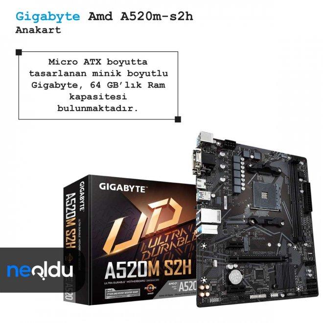 Gigabyte Amd A520m-s2h