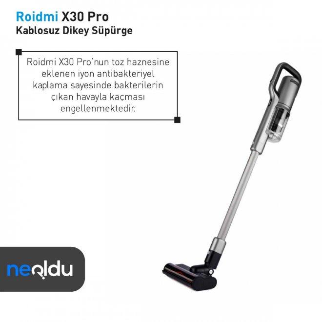 Roidmi X30 Pro toz haznesi
