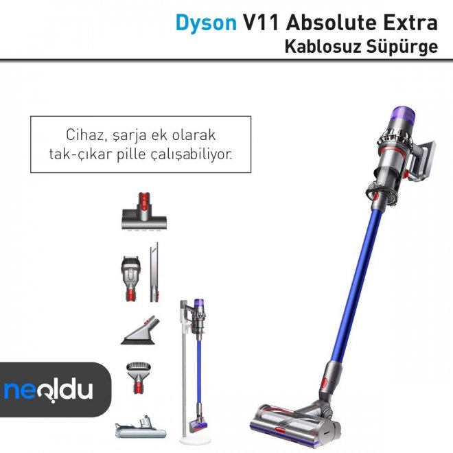 Dyson V11 Absolute Extra pil